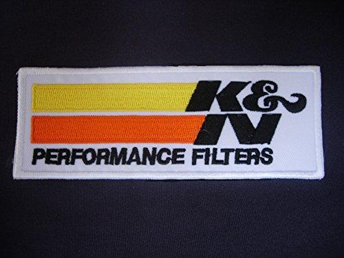 Patches–KN K & N–Cars–Motorsport–Racing Car Team–Iron Man Patch–Wandleuchte Embroidery Wappen bestickt kostüm cadeau- Give Away