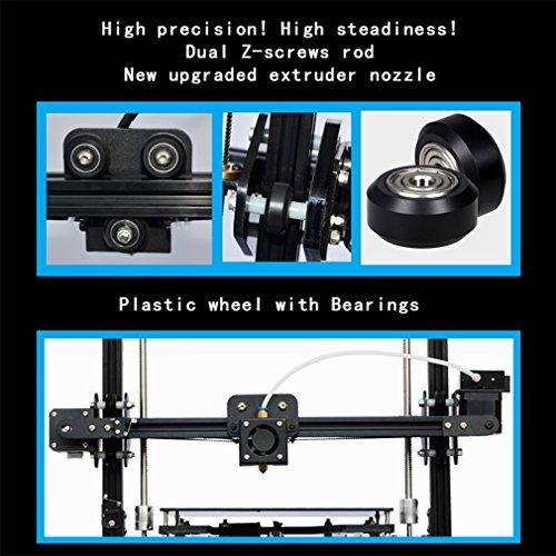 TRONXY X3A Automatische Nivellierung Großer 3D-Drucker Upgradest Hochpräzise Aluminiumstruktur Metall MK8 Düse DIY Kit 2004A LCD Bildschirm Druckgröße: 220 * 220 * 300mm - 3