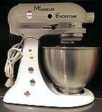 Best Los libros de cocina para muffins - Robot de cocina pegatinas backstube Muffin para KitchenAid Review