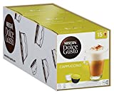 Nescafé Dolce Gusto Cappuccino, Kaffeekapseln, 3er Pack Großpackung