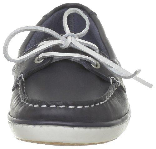 TBS Clamer, Chaussures bateau femme Bleu (Marine/Lacet Blanc)