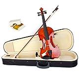 Aklot pour violon 4/4Taille complète acoustique Fiddle Instruments de musique avec étui Colophane en bois d\'érable Violin B Style