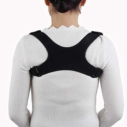 Ausomely Geradehalter zur Haltungskorrektur - Rücken Schulter Verstellbar Atmungsaktiv Rückenbandage Rückenhalter Haltungskorrektur für Damen und Herren