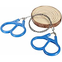 GOOTRADES Mini Stainless Steel Wire Saw Emergency Camping Hunting Survival Tool Chain