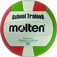 Molten - V5STC, Pallone da pallavolo, colore: Bianco/Verde/Rosso