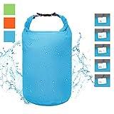 iOutdoor Products Dry Bag Leicht wasserdichte Tasche 2L / 5L / 10L / 20L / 40L / 70L Trockener Kompressionssack mit TAFT Abriebfest Reißfest und Langlebig Ultra-Light für Reisen/Wassersport(Blau, 40L)