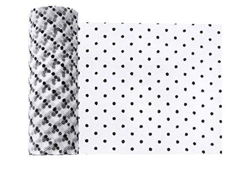 S', ca. 15 cm x 9 mtr., FARBE NACH WAHL, LOLLIPOP® (Dots-weiß) (Lollipop Dekorationen)