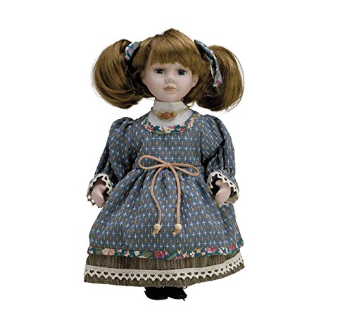 Muñeca de Porcelana de 30 cms con soporte. CLARA - BAM016