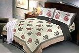 Jaipuri Bedsheets (Cotton Double Bedshee...