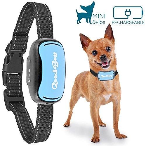 Antibell Vibrationshalsband für Kleine Hunde Wiederaufladbar und Wasserdicht (Bellen Hund Kragen Schock)
