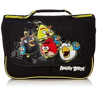 Angry Birds Mochila Negro