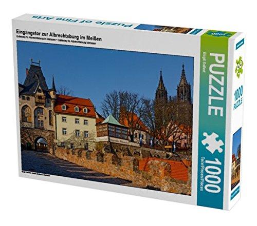 Preisvergleich Produktbild Eingangstor zur Albrechtsburg im Meißen 1000 Teile Puzzle quer: Meißen in Sachsen (CALVENDO Orte)