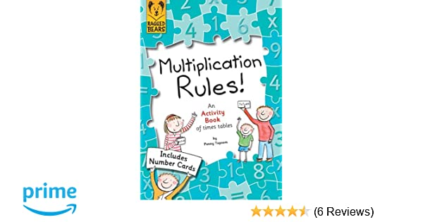 Multiplication Rules, An Activity Book of Times Tables: Amazon.co.uk ...