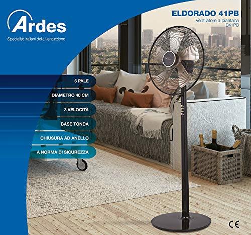 Zoom IMG-1 ardes ar5d41pb eldorado 41pb ventilatore