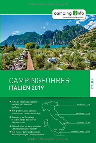 Campingführer Italien 2019
