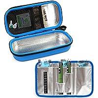 Insulin Kühltasche, Portable Travel Kühlbox, Diabetiker Medizin Kühltasche,Blue preisvergleich bei billige-tabletten.eu