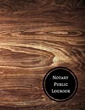 Notary Public Logbook: Notary Log