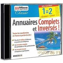 Micro Application - Annuaires complets et inversés