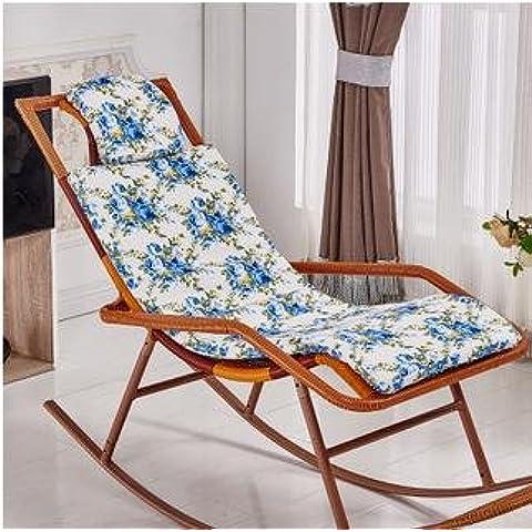 New day-Rattan sedia a dondolo che si trova sedia cuscino sedia a dondolo cuscino culla sedia cuscino , d