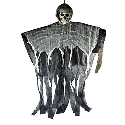 Hängende Ghost Bat Skull Skelett Mit Flügeln
