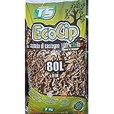 EcoCip - Virutas de castaño, paquete de 80 litros