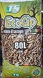 """Cippato di castagno """"ECOCIP"""" in confezione da 80 litri"""