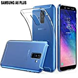 #8: AVICA Silicon Clear Flexible Premium Transparent Back Cover for Samsung Galaxy A6 Plus (2018) [Bumper Corners with Air Cushion Technology]