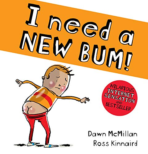 I NEED A NEW BUM! Cover Image