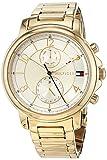 Tommy Hilfiger Damen Multi Zifferblatt Quarz Uhr mit Edelstahl Armband 1781821