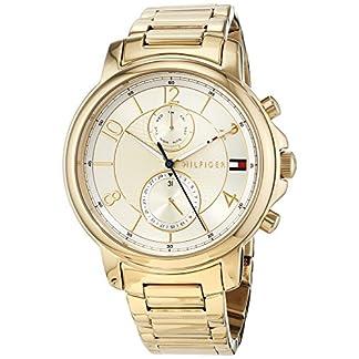 Tommy Hilfiger Reloj Multiesfera para Mujer de Cuarzo con Correa en Acero Inoxidable 1781821