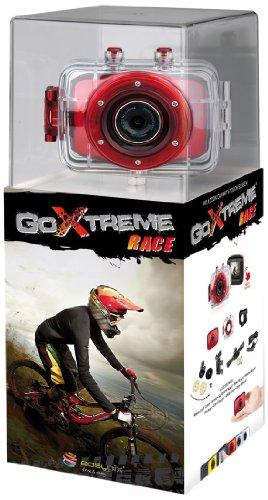 """Easypix Goxtreme Race - Videocámara de 5 Mp (pantalla de 2"""", resistente al agua), rojo"""