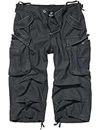 Brandit Industry Vintage 3/4 Vintage Shorts anthrazit