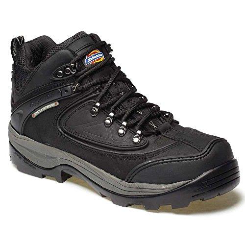 Dickies , Chaussures de sécurité pour homme Black