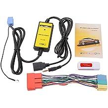 XCSOURCE® Adaptador USB Aux Coche Audio Interfaz para Audi A2 AllRoad Audi A4 S4 A6 S6 AC471
