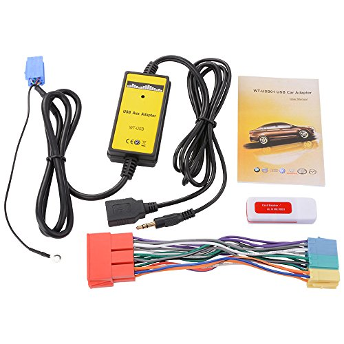 xcsource-car-audio-cd-mp3-player-usb-interface-aux-input-adapter-with-card-reader-20pin-cable-for-au