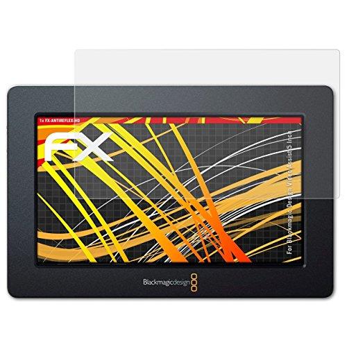 atFolix Schutzfolie kompatibel mit Blackmagic Design Video Assist 5 Inch Displayschutzfolie, HD-Entspiegelung FX Folie