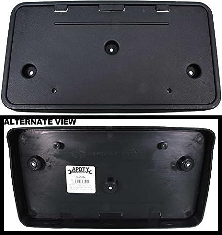 APDTY 133676 License Plate Bracket Plastic Frame Holder Fits 2007-2014