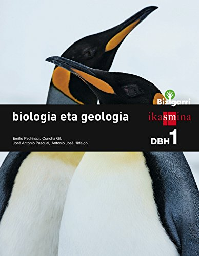 Biologia eta geologia. DBH 1. Bizigarri - 9788498553499