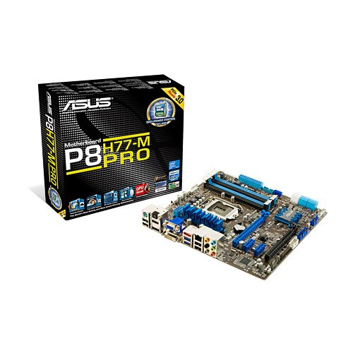 Asus P8H77-M Pro Mainboard Sockel 1155 (eATX, Intel H77, 16x PCIe, 4X USB 3.0)