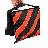 TARION® Sandsack Ausgleichgewicht Sandtasche für Stativ als Gegengewicht orange