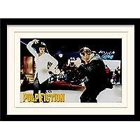 Pulp Fiction 30 x 40 cm Baile montado y impresión enmarcada