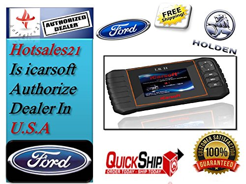 iCarsoft FD II FORD (USA, Europa, aus) & Holden Auto Diagnose Scanner Tool Öl SRS ABS Motor iCarsoft FD II, i920 (Motor-code Reader Volkswagen)