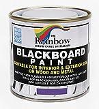 Best Chalkboard Paints - Purple Chalkboard Blackboard Paint - 250ml Ideal to Review