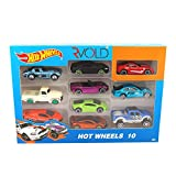 #3: Rvold Hot Wheels Miniature Die Cast Cars Set of 10 Gift Pack (Styles May Vary)