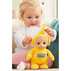 Teletubbies T375916 Cbeebies Talking Laa Soft Toy (Yellow)