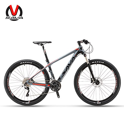 "Sava deck50030Velocidad de fibra de carbono MTB bicicleta de montaña 27,5""ultraligero para bicicleta"