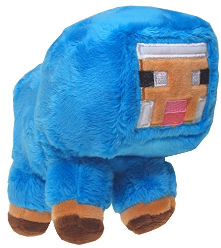 "Sheep Blue Plush - Minecraft - 18cm 7"""