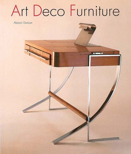 Art Deco Furniture: The French Designers by Alastair Duncan (16-Nov-1992) Paperback
