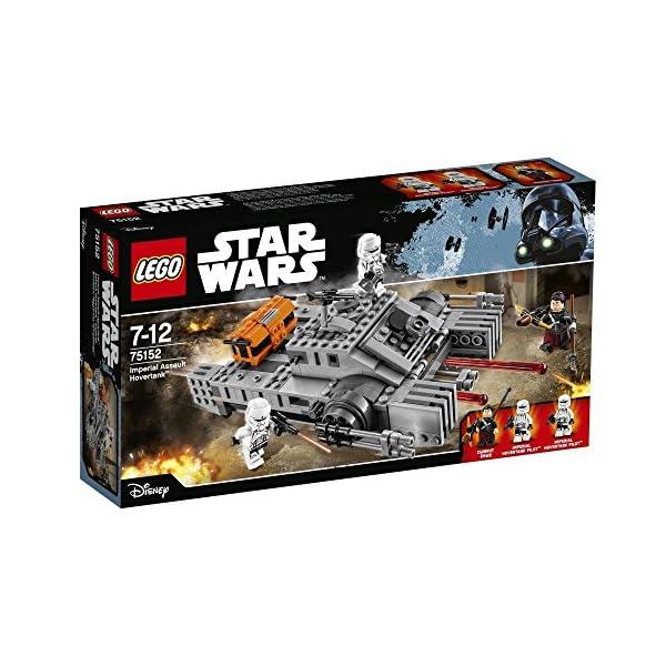 LEGO STAR WARS - Figura Imperial Assault Hovertank (75152) 1