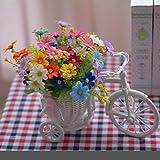 2018 Dekorative Blumen Home Zubehör Kleine Auto Feng Shui Künstliche Blumen (sehr viel Farbe) Dekorative Fake Blumen Simulation Blumen Green Potted Wohnzimmer Fahrrad Schlafzimmer Einrichtungsgegenstände , #144b